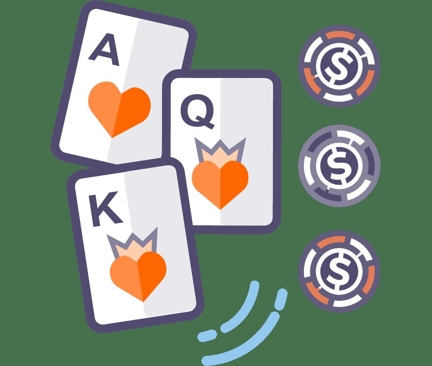 Παίξτε Πόκερ τριών φύλλων Online -Τα καλύτερα 44 με τις μεγαλύτερες πληρωμές Καζίνο Για Κινητά το 2021