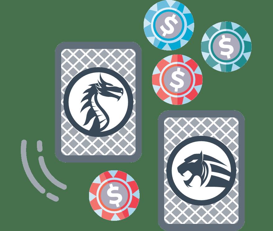 Παίξτε Dragon Tiger Online -Τα καλύτερα 33 με τις μεγαλύτερες πληρωμές Καζίνο Για Κινητά το 2021